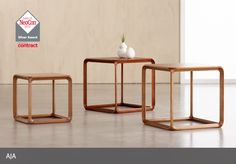 Nucraft Occasional Tables Neocon Silver Award Winner Aja