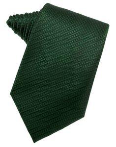 Hunter Herringbone Necktie