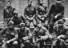 On April 8, 1918 the Army's 369th Infantry Regiment (Harlem Hellfighters) became the first all-Black unit to join with the AEF during World War I. The regimental band is credited with introducing jazz in Europe. #TodayInBlackHistory