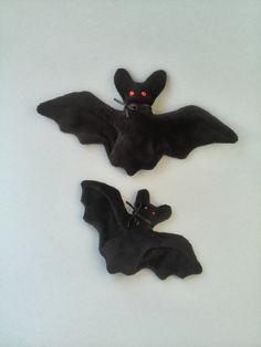 Halloween Black bat stuffed toy Plush toy bat for