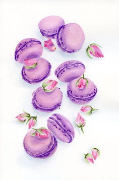 Rose Petal Macarons