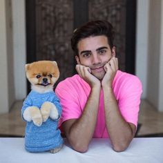 Hermosos amo ese perro Perfect Man, Animals And Pets, Youtubers, Fur Babies, Pup, Handsome, Teddy Bear, Instagram, Dogs