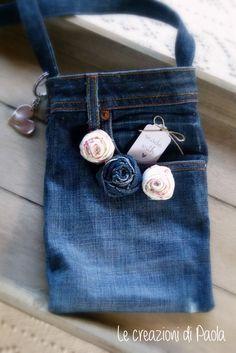 Borsa da riciclo jeans