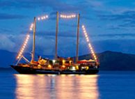 Fiji Vacation Packages - On a cruise with the famous Tui Tai