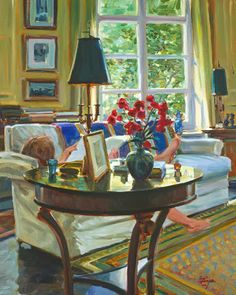 This is a Life of Leisure.  Artist, David Hettinger