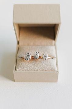 Adaline | 10x7mm, 9x7mm, 8x6mm | #simple #wedding #moissanite