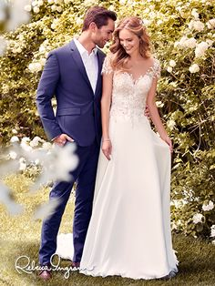 """""""Mercy"""" by Rebecca Ingram Spring 2018 Collection In store at Abbey Bridal"""