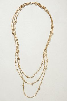 ...  it's sort of insignificant by itself so it's good for layering with one of the other gold necklaces. Description from anthropologie.com. I searched for this on bing.com/images