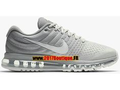 Nike Air Max 2017 Chaussures Nike Running Pas Cher Pour Homme gris 849559-005