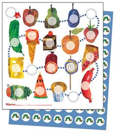 Carson-Delosa!! The Very Hungry Caterpillar™ Mini Incentive Chart (includes 630 stickers!)