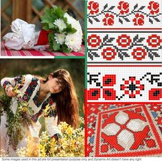 Traditional Bulgarian embroidery is characterized by great regional and local diversity. There is a wide variety of flat, raised and open-work stitches. Bulgarian, Regional, Diversity, Folk Art, Stitches, Fabrics, Traditional, Embroidery, Flat