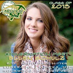 ▶  Meet the NEW 2015 Miners - ELLEN SCHULZ (6'0 / RS / Eureka HS '15 / Rockwood Thunder VBC / Eureka MO) / Play #flipagram Video - http://flipagram.com/f/MSb97ikg7G