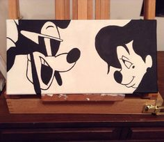 A Goofy Movie Painting by BreetifulDesigns on Etsy, $20.00  Hey Kayla guess what this is :)