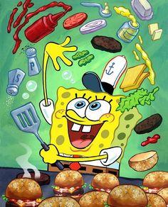 02 Spongebob - SquarePants Animated Childen TV Show Poster Spongebob Painting, Spongebob Drawings, Disney Drawings, Cute Drawings, Spongebob Iphone Wallpaper, Disney Phone Wallpaper, Wallpaper Iphone Cute, Mr Krabs, Cute Cartoon Wallpapers