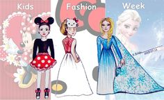 Kids Fashion Week  @hellokitty @frozen @minnie @seventeen @TeenVogue @glamour_fashion  #fashion #kids #love