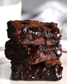 Esses brownies roubam a cena quanto o assunto é sobremesa
