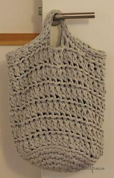 Ideas Crochet Bag Leather Fabrics For 2019 Crochet Headband Pattern, Crochet Tote, Crochet Socks, Crochet Handbags, Crochet Purses, Love Crochet, Knit Crochet, Crochet Patterns, Cotton Cord