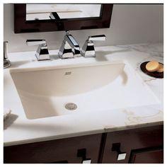 Verticylтў Rectangular Undermount Bathroom Sink K-2882-0 $167 on faucet kohler k-2882-0 white verticyl 20   appliances