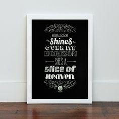 Chalk it Up Print by Mash NZ Art Prints, Design Prints, Posters & NZ Design Gifts | endemicworld