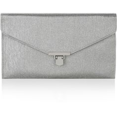 Accessorize Roxanne Glitter Clutch Bag ($19) ❤ liked on Polyvore featuring bags, handbags, clutches, purses, glitter clutches, envelope clutch bag, metal clasp purse, chain handbags and glitter handbag