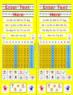 Editable Desk Tag Set: Vertical (Yellow Primary) from Chalkspot.com on TeachersNotebook.com -  (24 pages)  - Vertical Desk Tag (Yellow Primary) set includes PDF file and editable Power Point 2011 file. Each file has 12 pages/24 desk tags.