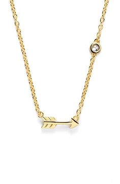 SHY+by+Sydney+Evan+Arrow+Necklace+available+at+#Nordstrom