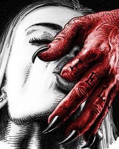 Demon hand ..... ♡
