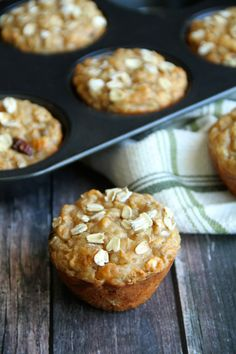 Your Apple Oat Greek Yogurt Muffins recipe can benefit from 9 g of fibre, when you replace ¼ cup of flour with a ¼ cup of ground All-Bran Buds™. #AllBran #Fibre #Recipe #Apple #Oatmeal #Oat #Yogurt #Muffins