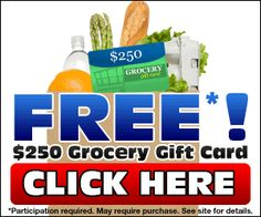 Free Grocery Gift Card @    http://bit.ly/IiIhfB    If you wanna save money use our Estore  http://online-grocery-shopping.info