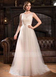 143 best Scoop neck wedding dress images on Pinterest | Alon livne ...