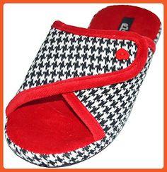2c4b303ef354 eZstep Women s Zoe Orthopedic Slippers Red 9 US - Slippers for women  ( Amazon Partner