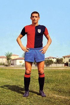 Cagliari Calcio - Gigi Riva Good Soccer Players, Football Players, Luigi, Image Foot, Big Men, Football Soccer, All Star, Nostalgia, Running