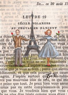 page from a French book
