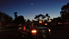Evening shot in Sacramento super duty Ford truck