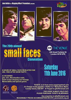 The darlings of wapping wharf launderette - the small faces fanzine
