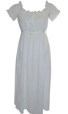 1bb1717f86  Darcy  Victorian Edwardian Night Dress   Vintage Style Night Wear   100%