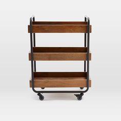 Wood Kitchen Caddy — West Elm