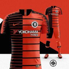 Nike x Kenzo Football Kit for Chelsea 🔥⚽️ Chelsea Fc, Chelsea Football, Soccer Uniforms, Soccer Shirts, Football Kits, Football Jerseys, Rugby Jersey Design, Football Logo Design, Messi Goals