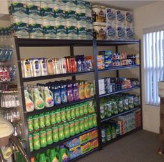 Fun Prepper's Pantry Stockpile Guide For Surviving A Disaster! Quick Advice Of Organizing Your Pantry - An Introduction - Prepper Bob Pantry Storage, Storage Hacks, Garage Storage, Food Storage, Storage Ideas, Coupon Organization, Storage Organization, Organizing Ideas, Pantry List