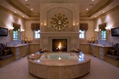 Dream Bathrooms, Beautiful Bathrooms, Master Bathrooms, Luxury Bathrooms, Master Baths, Master Bedroom, Master Suite, Fancy Bathrooms, Mansion Bathrooms
