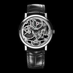 White Gold Ultra-Thin Skeleton Watch G0A37132 - Piaget Luxury Watch Online