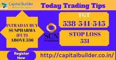 👉Tody Trading Signal 👇 INTRADAY BUY #SUNPHARMA(FUT) ABOVE 536 TGT-538-541-545 SL-531  #CapitalBuilder #StockTips #CommodityTips #HniTradingTips #ForexTips For more information ✆ +918815278555 or Visit http://capitalbuilder.co.in/