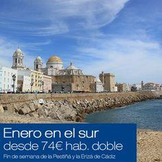 El próximo fin de semana comienzan en Cádiz las primeras celebraciones del Carnaval 2015. ¿Qué mejor forma de comenzar el año que yendo al sur?