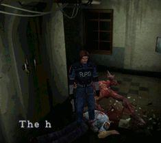 Resident Evil 2, PS1.