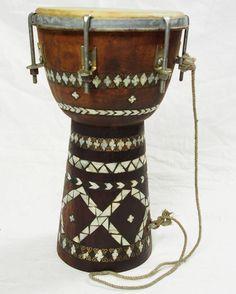 Afghan music instrument Zerbaghali Handtrommel No:17/C - orientart