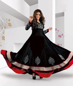 When you need to choose a trendy yet ethnic wear, #Bollywood inspired #AnarkaliDress could look stunning. You get a whole new range of Designer Anarkali Suits, Jacket Style Anarkali suits, Party wear Anarkali etc   Get Flat 16% Off   Check out here:- http://www.shoppers99.com/all_sales/neha_dhupia_long_length_designer_anarkali_dresses