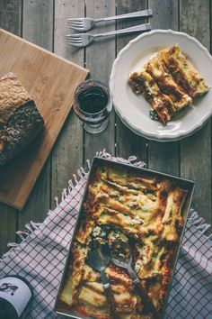 Spinach and Ricotta Cannelloni-a video post (Souvlaki For The Soul)