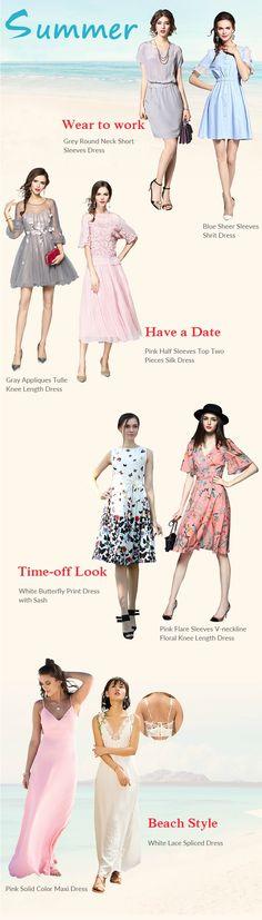 All Things Lovely Shop-  Looks we love for Summer Dresses