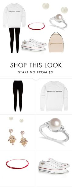 """""""dangerous woman merch"""" by femalerebell ❤ liked on Polyvore featuring Givenchy, Lipsy, Allurez, Converse and Henri Bendel"""