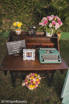 Las Cumadres - Casamento de dia #keys #vintage